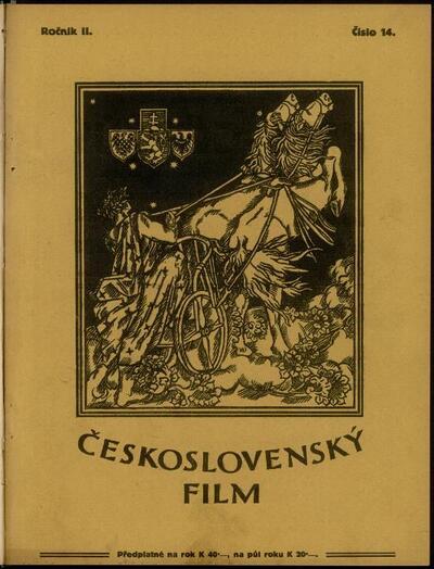Československý film 14/1920