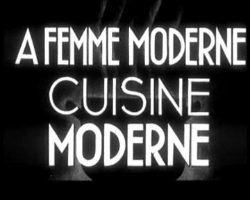 A Femme moderne - cuisiner moderne