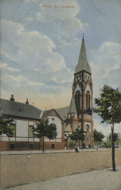 Református templom a Szabadság úton