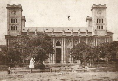 Pécsi Székesegyház az 1870-es években