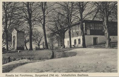 Rosalia bei Forchtenau, Burgenland: Wutzelhofers Gasthaus