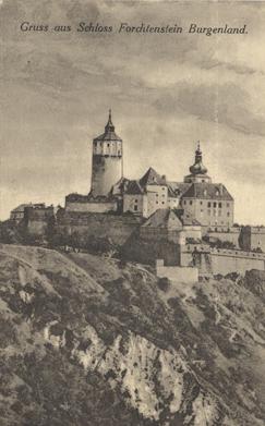 Gruss aus Schloss Forchtenstein Burgenland