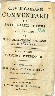 C. Iulii Caesaris commentarii de bello Gallico et civili