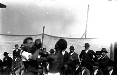 Cirkuszi bokszmeccs 1927.