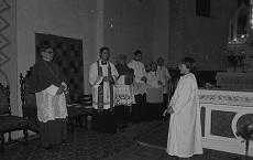 Földeák római katolikus templomi ünnepség
