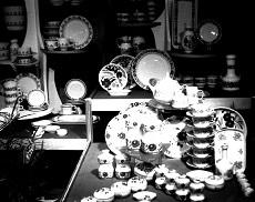 Hódmezővásárhelyen az Alföldi Porcelángyár termékei