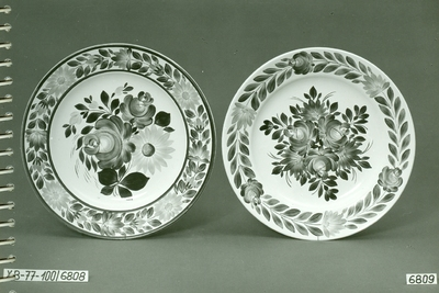 Festett gránit tányérok