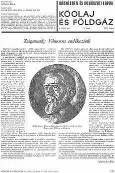 Bányászati és Kohászati Lapok Kőolaj és Földgáz 1971. évfolyam 5. szám