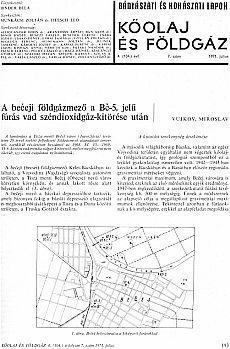 Bányászati és Kohászati Lapok Kőolaj és Földgáz 1971. évfolyam 7. szám