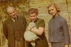 Szabó József és családja