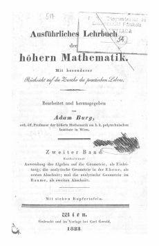 Ausführliches Lehrbuch der höheren Mathematik 2