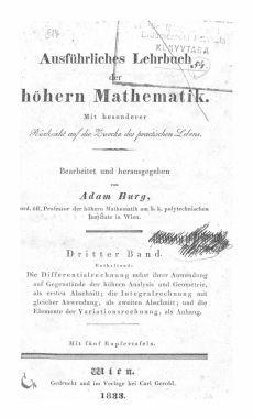 Ausführliches Lehrbuch der höheren Mathematik 3
