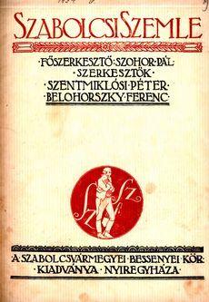 Szabolcsi Szemle 1934 6