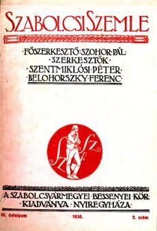 Szabolcsi Szemle 1936 2