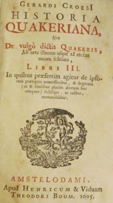 Historia Quakeriana