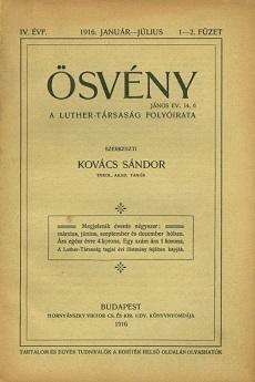 Ösvény 1916-1917