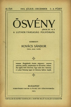 Ösvény 1915 (július-december)