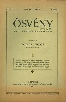 Ösvény 1914 (december)