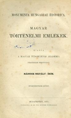 Történelmi naplók 1663-1719