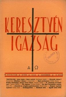 Keresztyén Igazság 1940 (november)