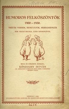 Humoros felköszöntők 1900-1930
