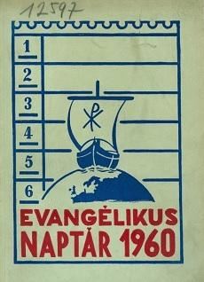 Evangélikus Naptár 1960