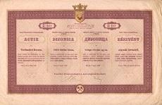 A Varesi Vasipar Rt. részvénye 400 koronáról