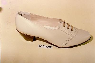 Női cipő - Bőr, nyers félcipő
