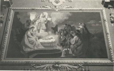 Kömlői templom freskójának fotódokumentációja (3.)