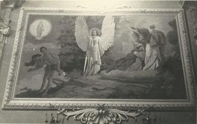 Kömlői templom freskójának fotódokumentációja (4.)