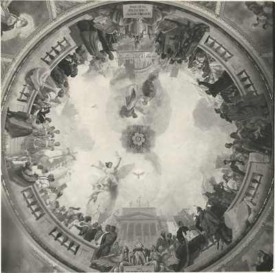 Egri Bazilika freskójának fotódokumentációja (7.)