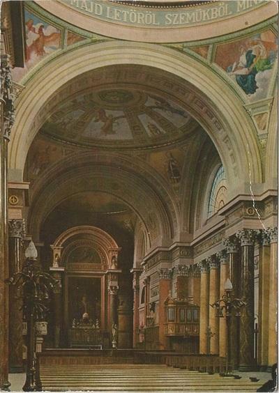 Egri Bazilika freskójának fotódokumentációja (8.)