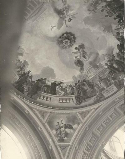 Egri Bazilika freskójának fotódokumentációja (9.)