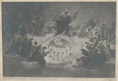 Egri Bazilika freskójának fotódokumentációja (10.)