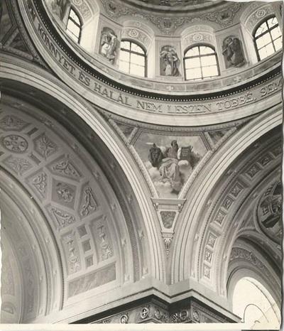 Egri Bazilika freskójának fotódokumentációja (11.)