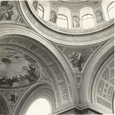 Egri Bazilika freskójának fotódokumentációja (12.)