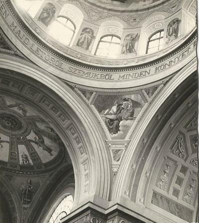 Egri Bazilika freskójának fotódokumentációja (13.)