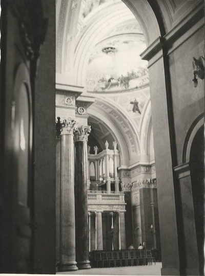 Egri Bazilika freskójának fotódokumentációja (14.)
