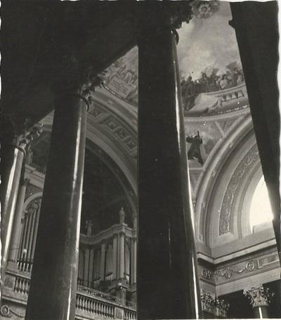 Egri Bazilika freskójának fotódokumentációja (16.)