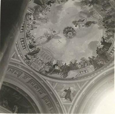 Egri Bazilika freskójának fotódokumentációja (19.)