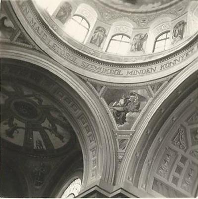 Egri Bazilika freskójának fotódokumentációja (20.)