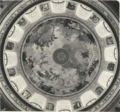 Egri Bazilika freskójának fotódokumentációja (21.)