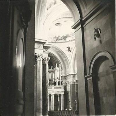 Egri Bazilika freskójának fotódokumentációja (22.)