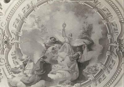 Jászárokszállási templom freskójának fotódokumentációja (1.)