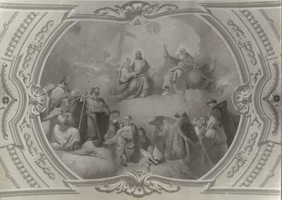Jászárokszállási templom freskójának fotódokumentációja (2.)