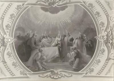 Jászárokszállási templom freskójának fotódokumentációja (3.)