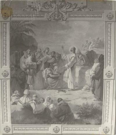 Jászárokszállási templom freskójának fotódokumentációja (6.)