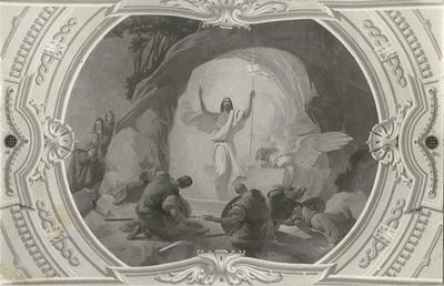 Jászárokszállási templom freskójának fotódokumentációja (7.)