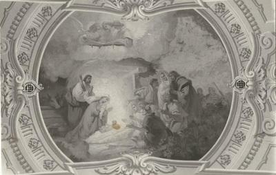 Jászárokszállási templom freskójának fotódokumentációja (9.)
