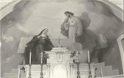 Jászárokszállási templom freskójának fotódokumentációja (10.)